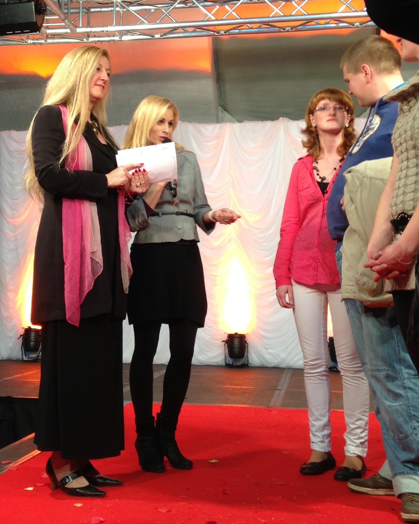 Loveweddings -Verlosung bei der Hochzeitsmesse Neubrandenburg