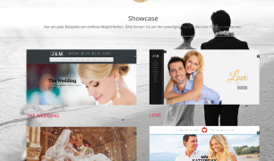 Homepagedesign LoveWeddings