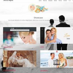 Homepagedesign LoveWeddings
