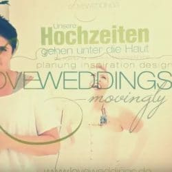 LoveWeddings Movingly – Hochzeitslogo